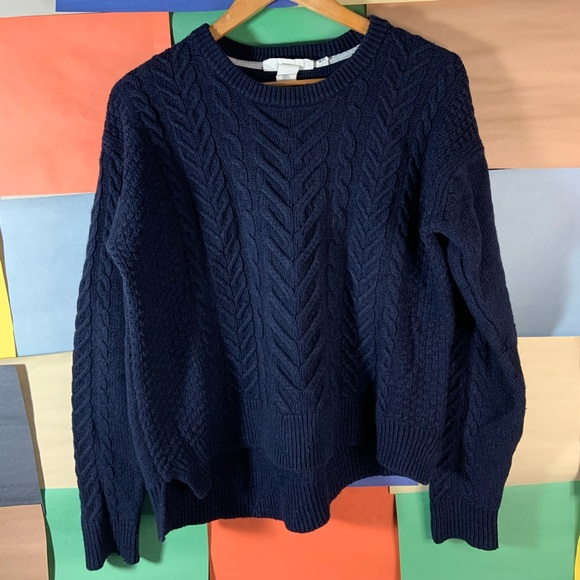 H & M Cable Knit Sweater size S